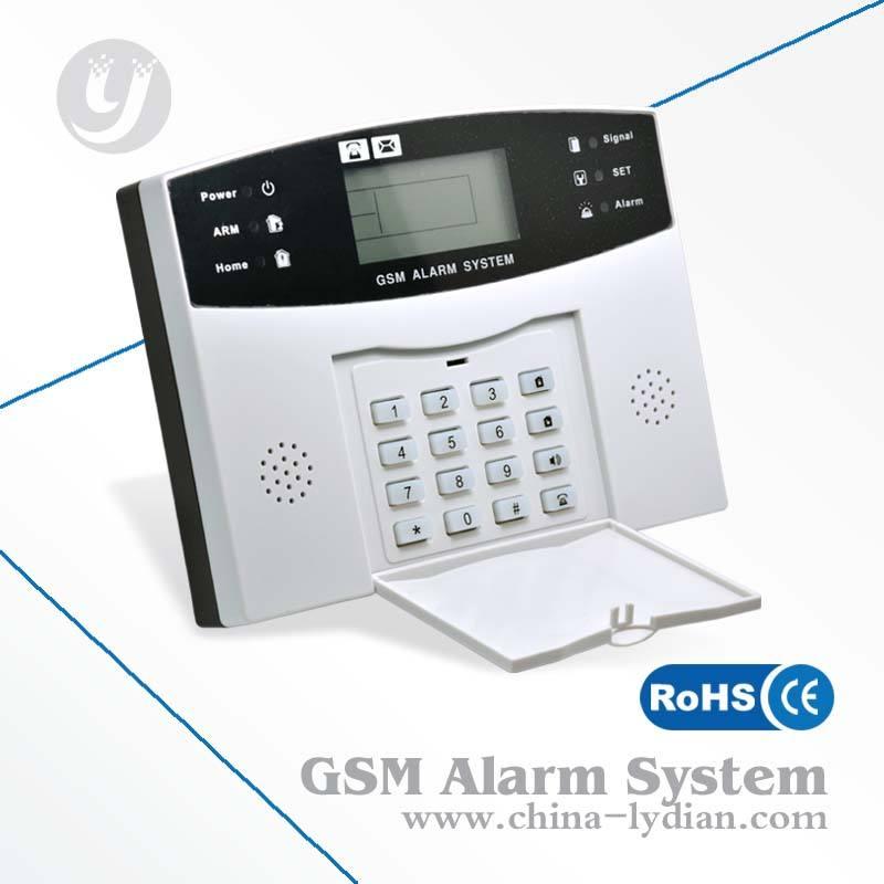 Система охранной сигнализации / GSM сигнализация беспроводной домашней охранной безопасности LYD-111