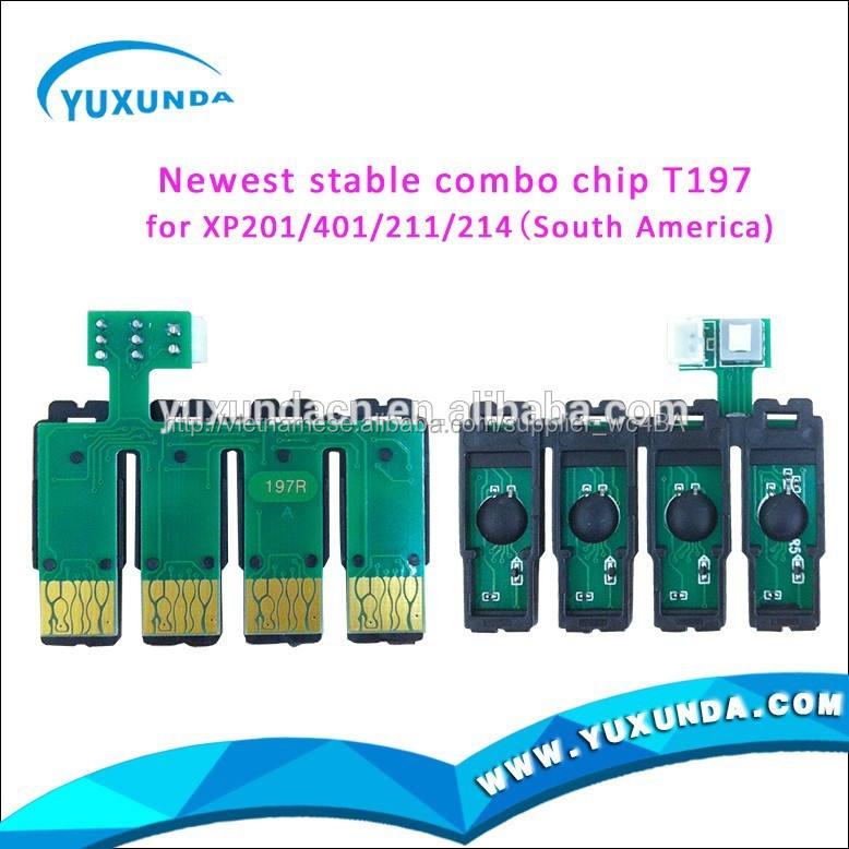 T197 CISS kết hợp chip cho wf2532 xp214/xp401 CISS chip xp201
