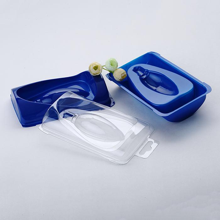Blaue transparente PET-Glühbirne Glühlampe elektronische Komponente Produkte Blisterschalenverpackung