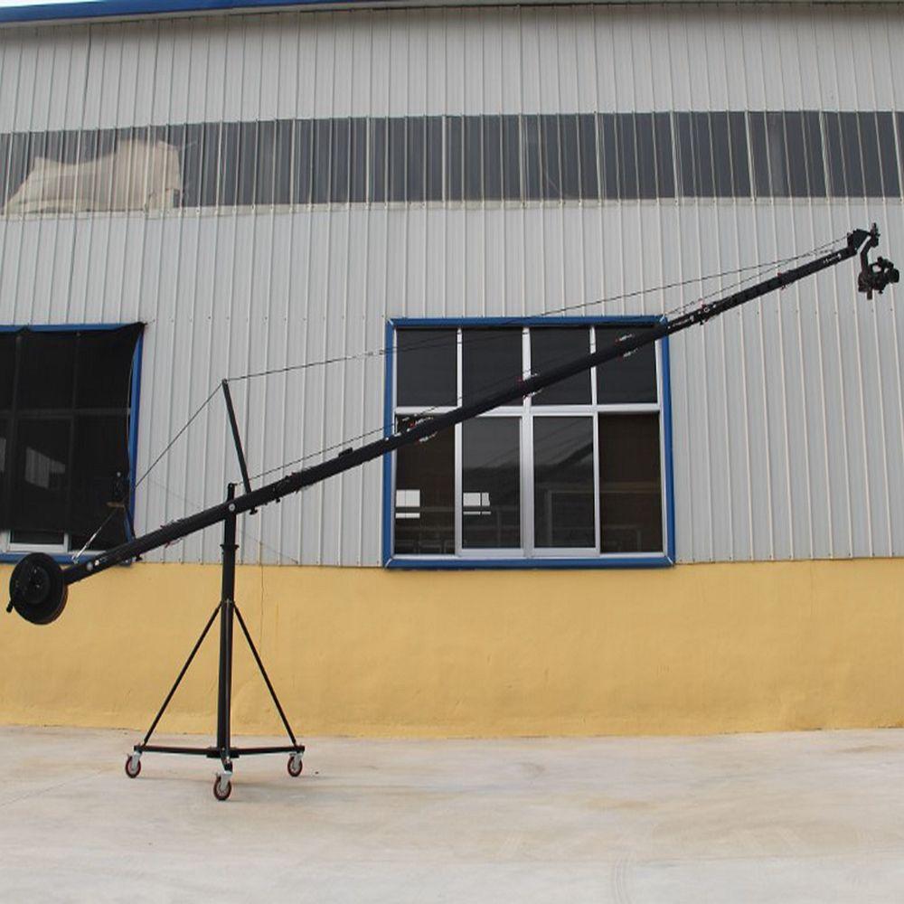 Fuente de la fábrica película equipos octogonal Jimmy <span class=keywords><strong>Jib</strong></span> Crane cámara 10 <span class=keywords><strong>m</strong></span> (33ft) para la venta