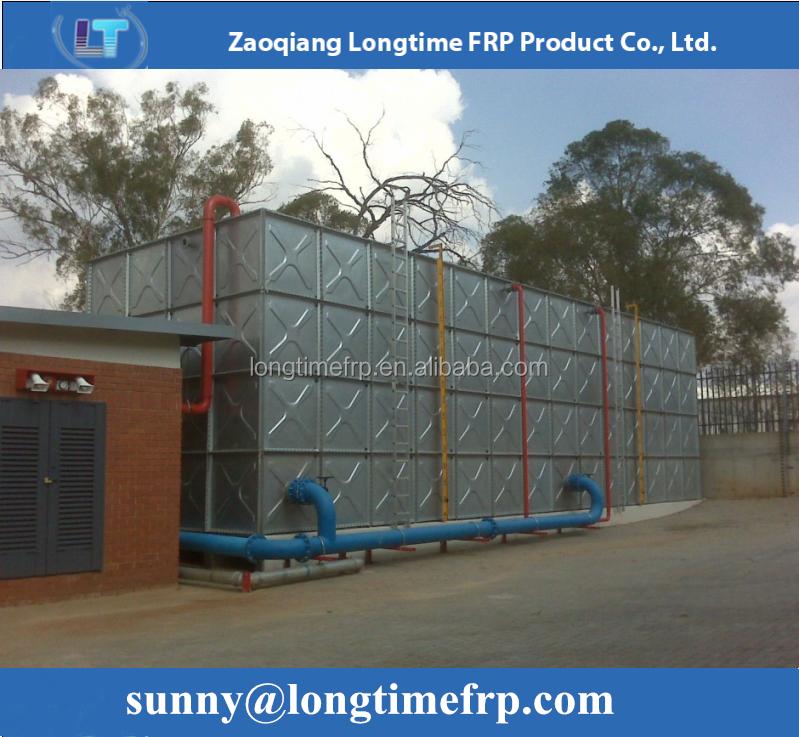 Высокое качество оцинкованной горячим способом резервуар для воды с более дешевой цене
