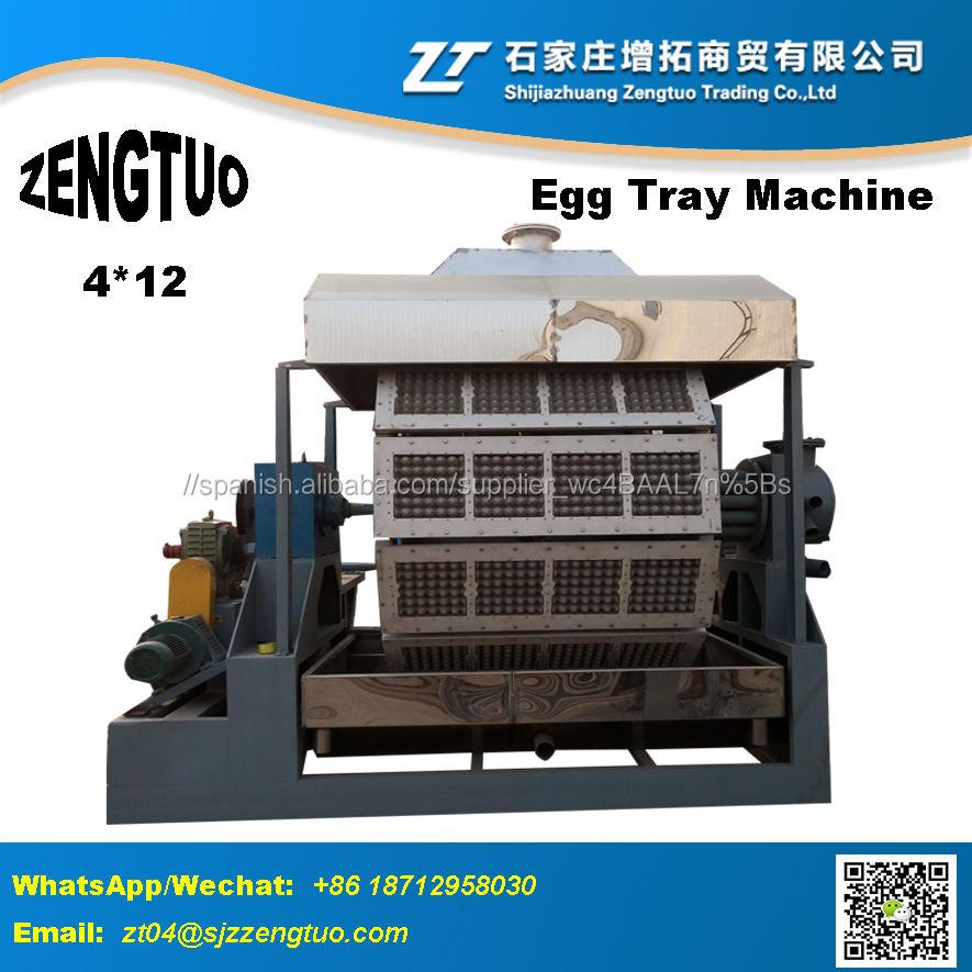 Salida grande bandeja de huevos precio de la máquina