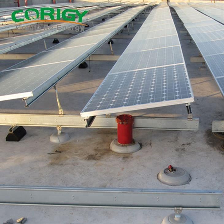 Modelo de diseño de techo de aluminio de energía solar fotovoltaica, kit de panel