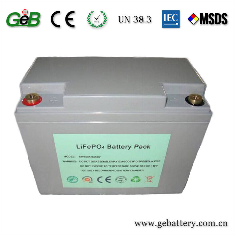 Chất lượng cao Lifepo4 12 V lithium ion battery pack cho năng lượng mặt trời