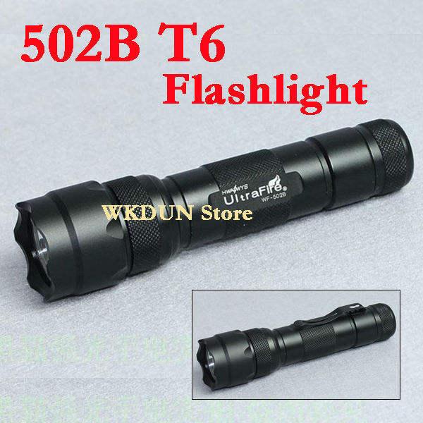 Ultrafire cree xml t6 1000lm 502b linterna LED