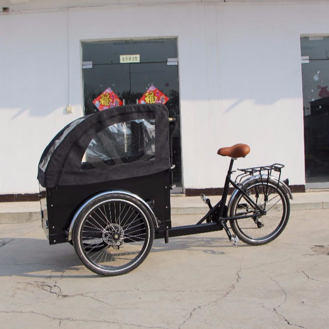 electric 36V 250W tricycle/electric cargo trike mobile bike for adult