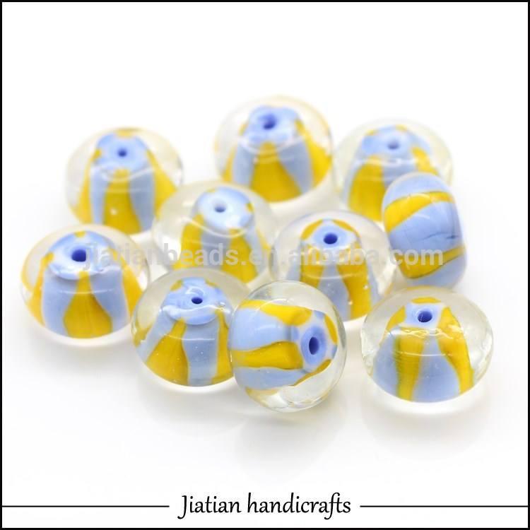 111*18mm roundle murano teal glasperlen großhandel für schmuck making*