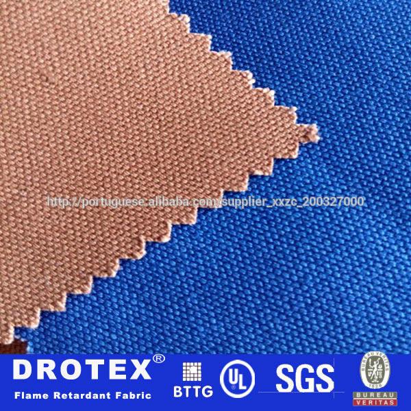 100% algodão 9.5oz <span class=keywords><strong>teflon</strong></span> anti óleo e água& fireproof tecido tecido de algodão workwear segurança vestuário