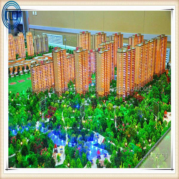 Архитектура макет здания