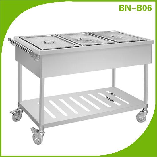 2014 venda quente comercial de aquecimento elétrico bain marie/banho-maria quente bn-b06