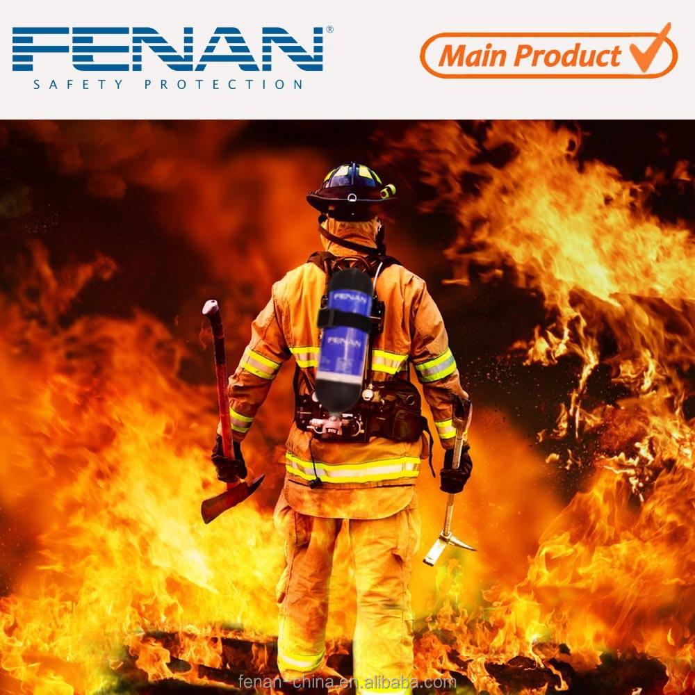 Углеродного волокна воздуха цилиндра респиратор, противопожарное дыхательный аппарат с маска для лица респиратор ада
