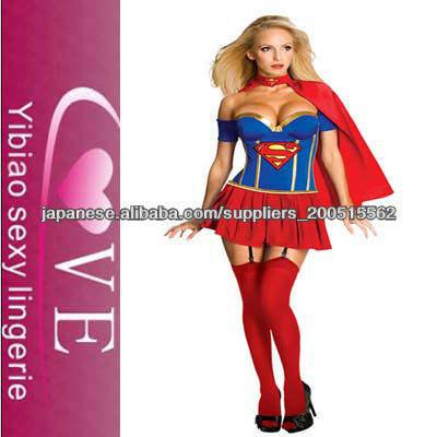 2013新しい女性のパーティーコスチュームジャスティスリーグ - レディースーパーガール