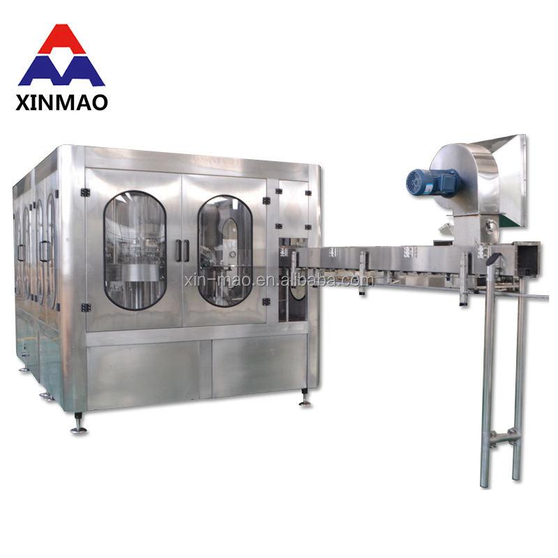Xin Mao Marca máquina de embalagem da garrafa de água mineral/água pura linha de enchimento