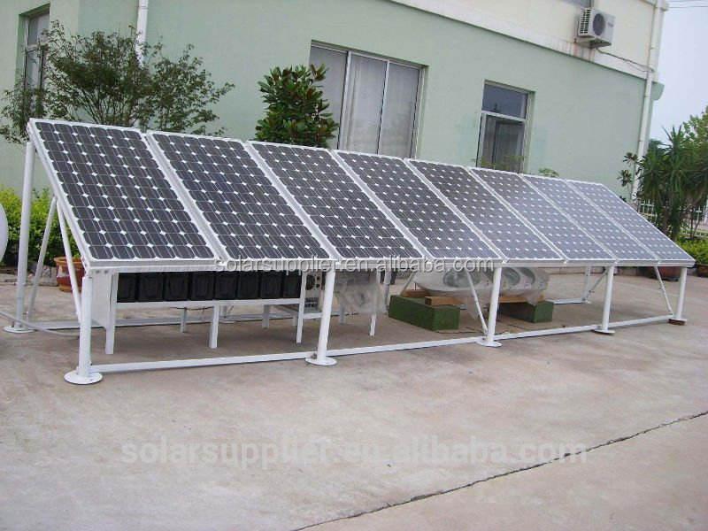 5kw 10kw fabricante ofrecer buenas soluciones sistema solar fuera de la red de la batería de copia de seguridad/sistema
