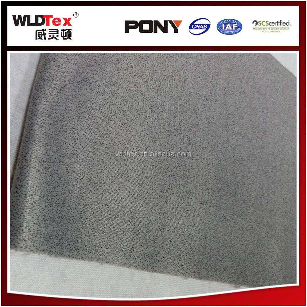 100D Non-Tissé polyester à retardement tricoté matelas tissu