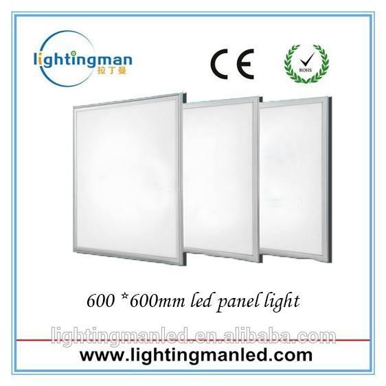 600x600 led del techo del panel led de luz, 2x2 plaza de led de luz