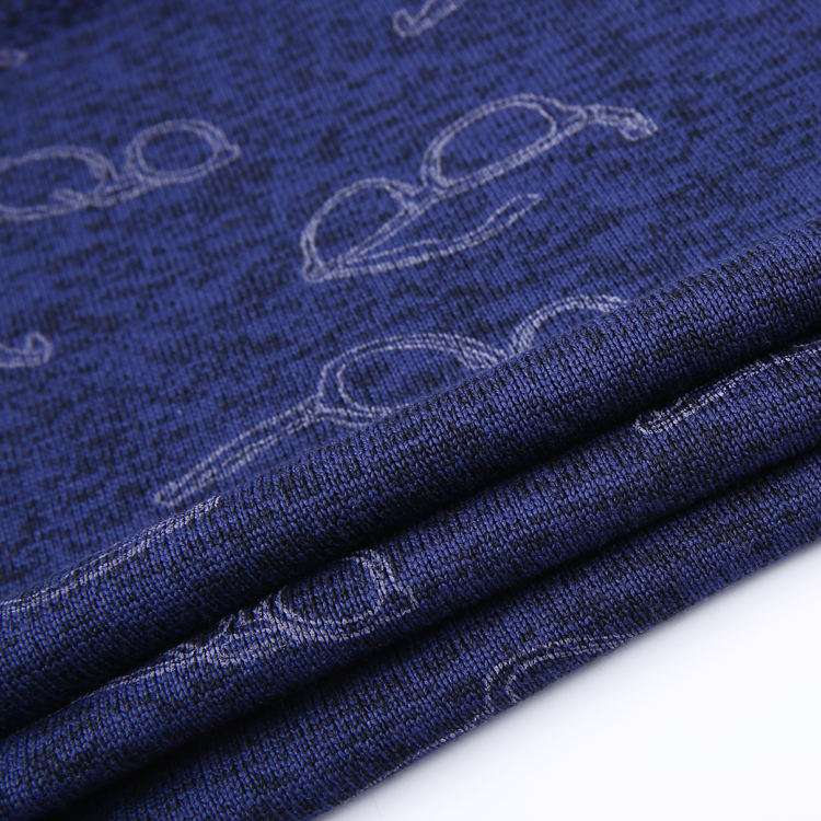 100 per cento poliestere tessuto animale di stampa aereo in pile tessuto