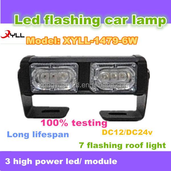 6 W <span class=keywords><strong>luz</strong></span> principal del coche bar, 4 x 4 led luces <span class=keywords><strong>de</strong></span> <span class=keywords><strong>advertencia</strong></span>, camión offroad o tractor indicador led parpadeo <span class=keywords><strong>de</strong></span> luces