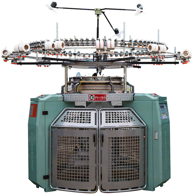 automatic professional 4 track single jersey knitting machines for sale