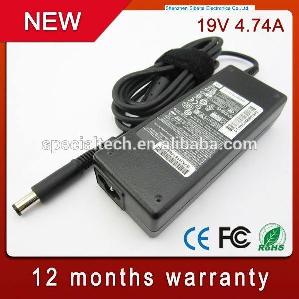 19 v 4.74a adaptador del ordenador portátil para <span class=keywords><strong>hp</strong></span> 463554-002 519330-003 pa-1900-18h2