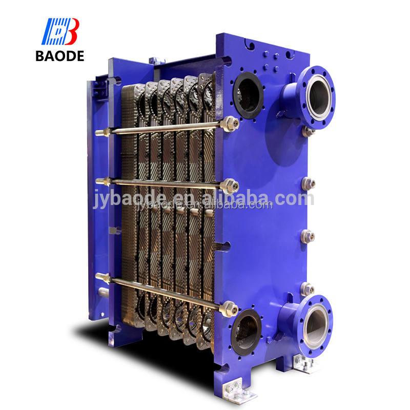 التدفئة الأساسية المقاوم للصدأ إطار ألفا لافال m3/مبادل حرارة m3m