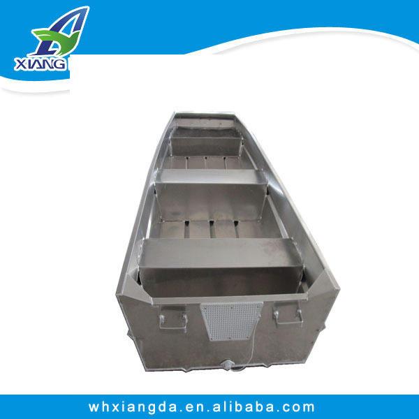 china 2015 el certificado del ce de aluminio 10ft fondo plano de barcos