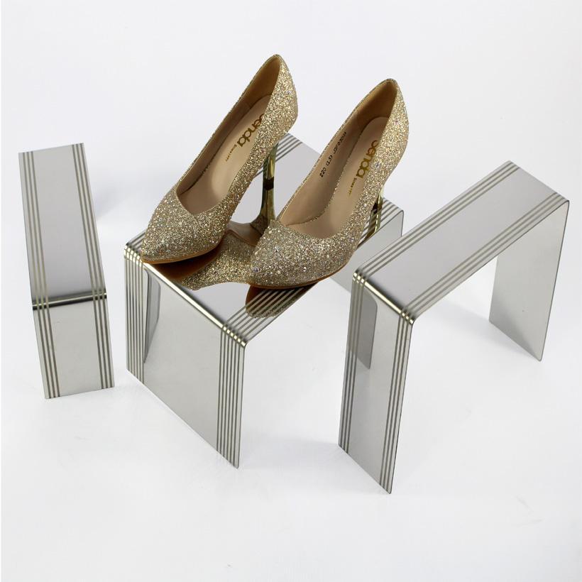 Set aus 3 Metall-Schuhspanner-Schuhhalterungen aus Metall