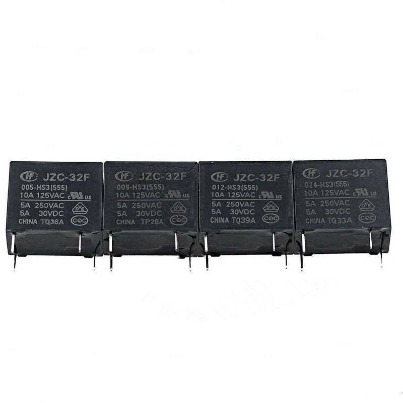 5PCS HF32F-012-HS//HF32F-012-HS3 Relay 4-pin Normally Open 5A 250VAC Power Relais