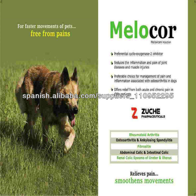 Meloxicam Veterinaria Inyección