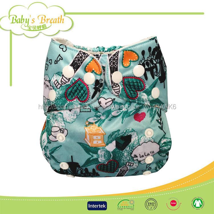PSF073 bambú pañal de tela equipado <span class=keywords><strong>asistente</strong></span> por mayor del bebé lavable pañal de tela