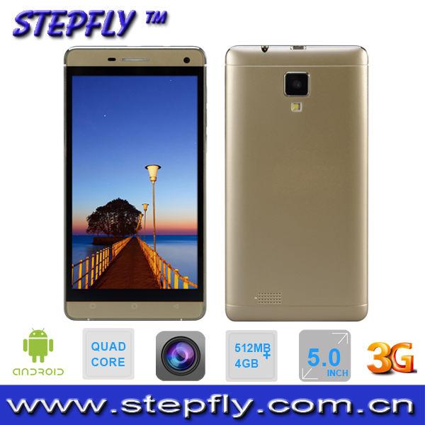 Capacitiva 5.0inch pantalla táctil MTK6582 quad core teléfono Android 4.4 WIFI Bluetooth 3G Mobile M850Q