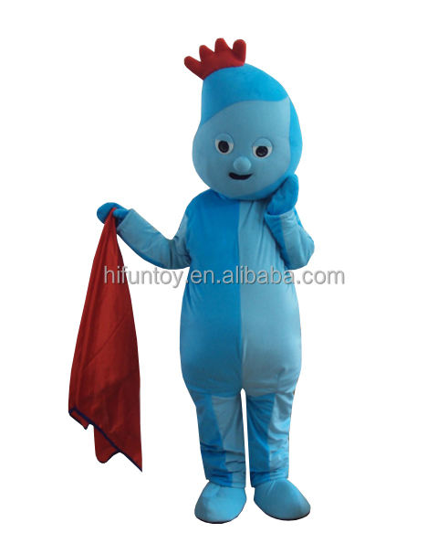 Funtoys Night Garden Iggle Piggle Mascot เครื่องแต่งกาย Made In China