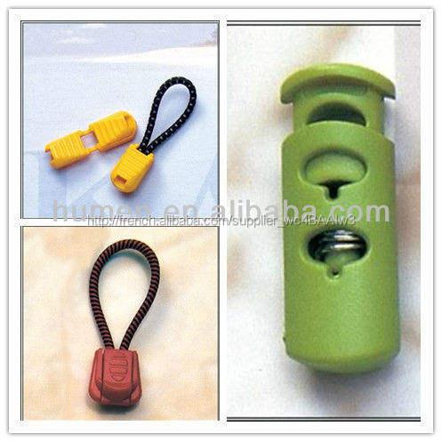 Différents Types en plastique élastique cordon de serrage, Cordon de verrouillage