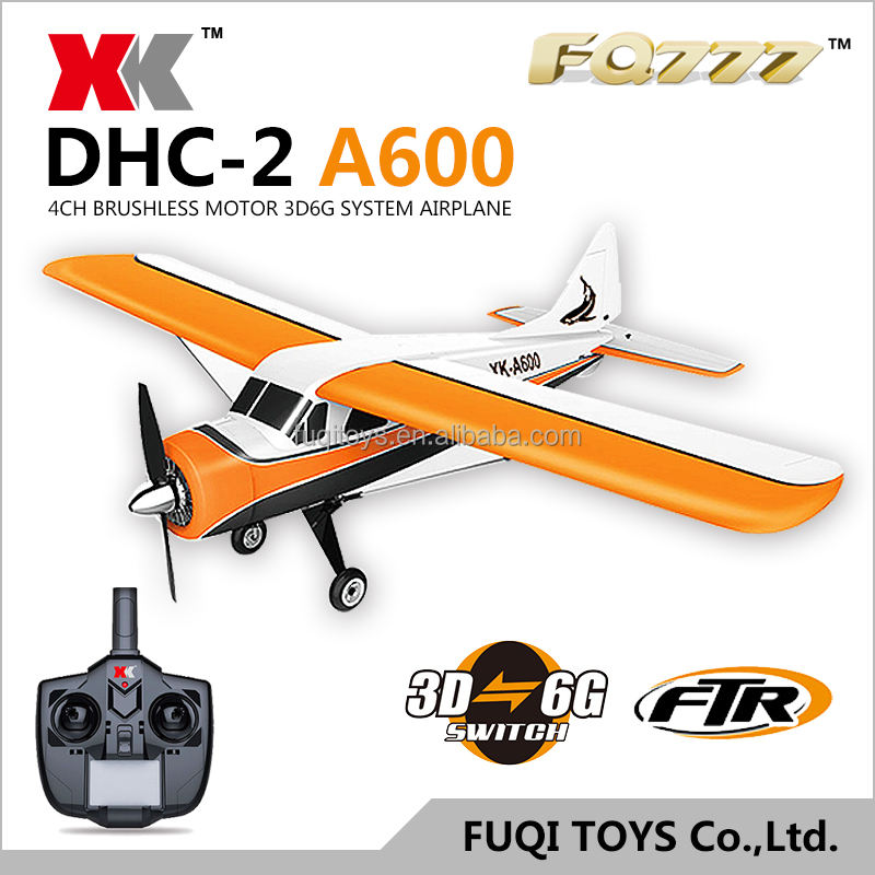 Xk dhc-2 a600 4ch 3d6g System brushless <span class=keywords><strong>rc</strong></span> flugzeug kompatibel futaba <span class=keywords><strong>rtf</strong></span>