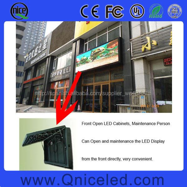 Mantenimiento Frente Pantalla LED P10 para la publicidad gráfica video al aire libre