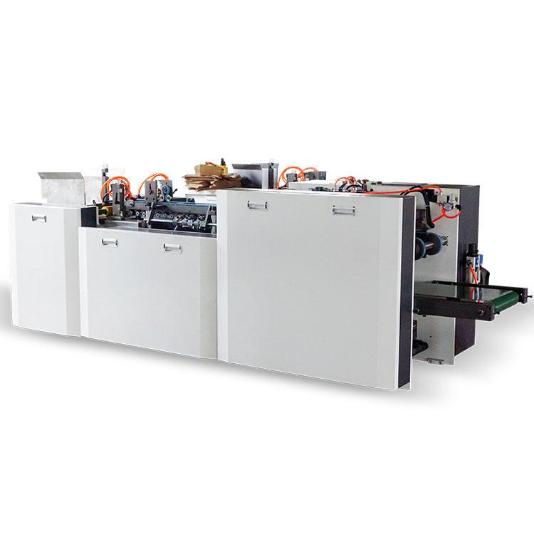 Caliente Sales alimentación automática caja de almuerzo de papel que forma la máquina de caja de cartón de montaje de la máquina