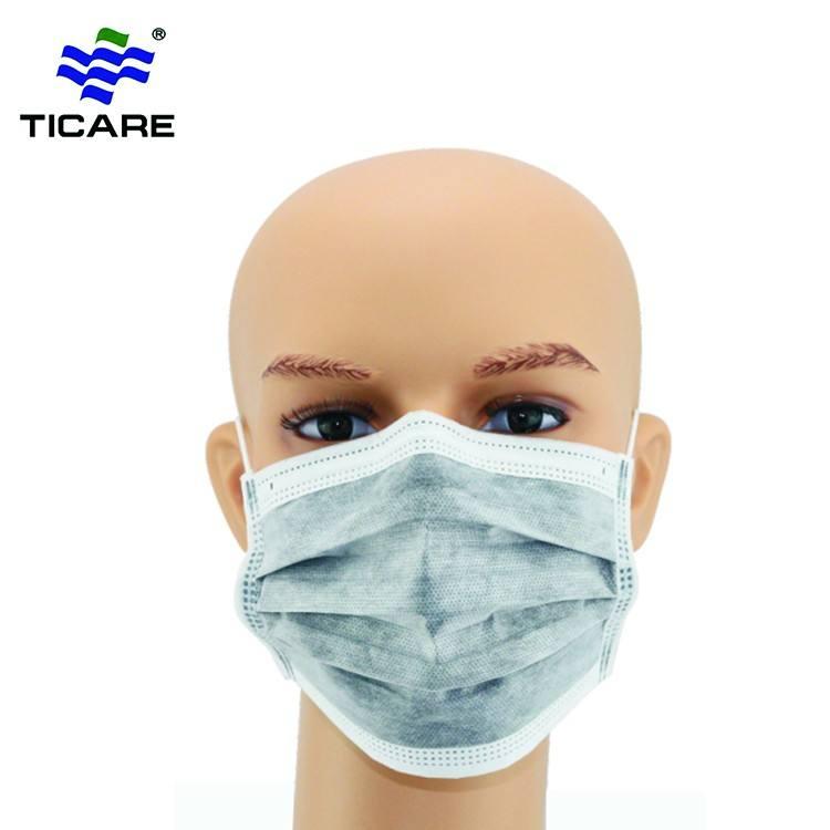 Sıcak Satış Pediatrik Sıhhi Aktif Karbon Yüz Maskesi