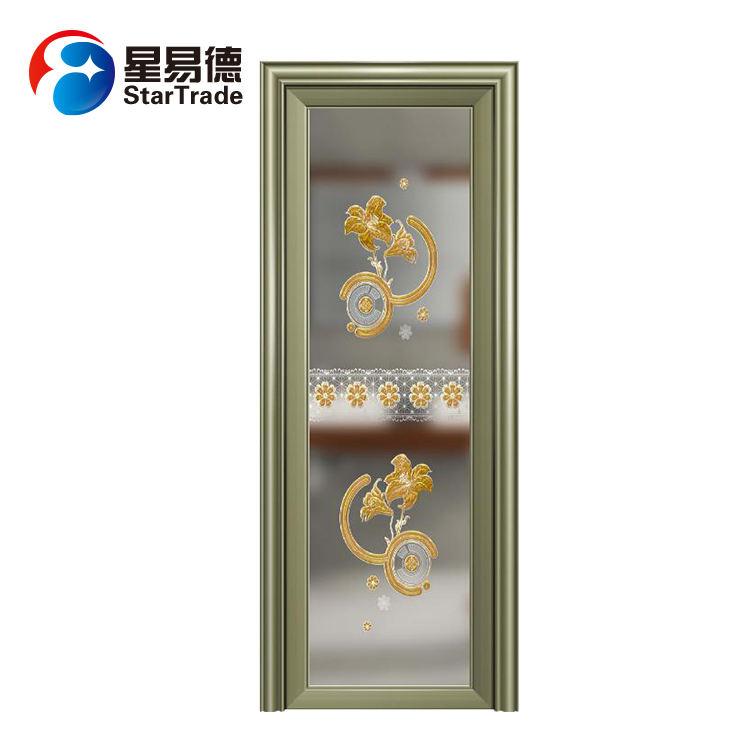 Китай поставщиком <span class=keywords><strong>золота</strong></span> конкурентоспособная <span class=keywords><strong>цена</strong></span> алюминия Туалет двери для ванной комнаты
