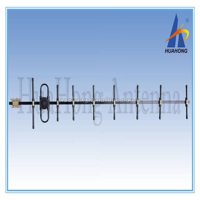 С высоким коэффициентом усиления полностью Сваренная CDMA 450 <span class=keywords><strong>мГц</strong></span> <span class=keywords><strong>433</strong></span> <span class=keywords><strong>мГц</strong></span> 9 элементов 15dbi Китай антенна yagi
