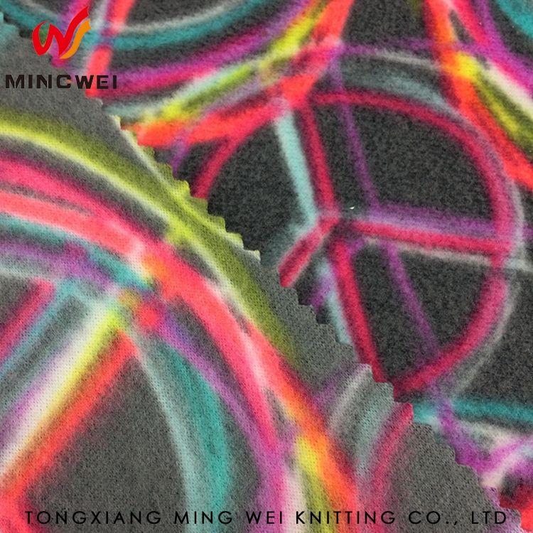방수 스트라이프 인쇄 넓은 폭 양털 직물 제조 업체 근처 Huzhou의
