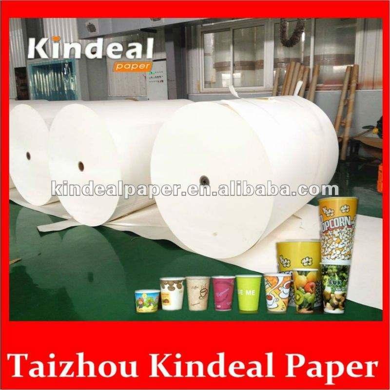 Еда пэ мелованная бумага для одноразовые контейнер для жидкости