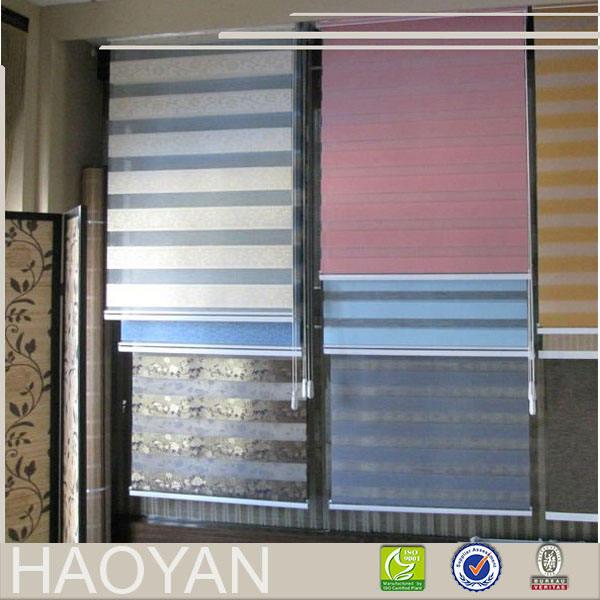 Zebra persianas cortina de tela al por mayor