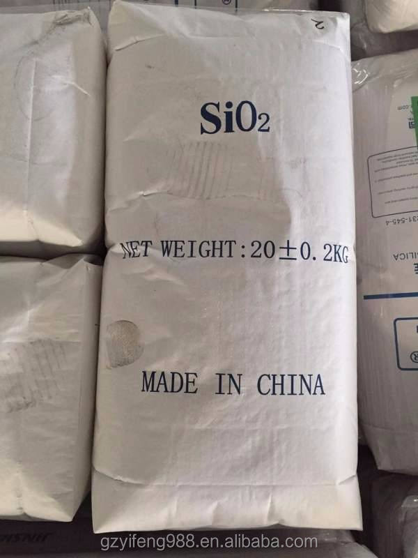Blanco negro de carbón en polvo de calidad alimentaria/dióxido de silicio