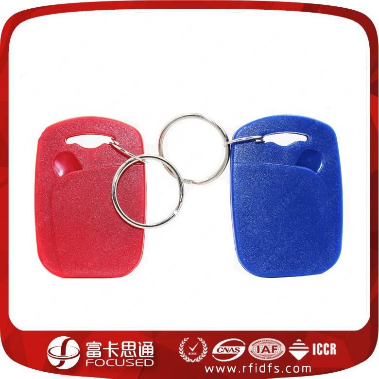 Top venda 13.56 mhz mifare 1 k rfid porta chaves