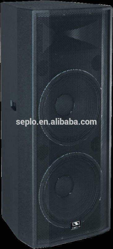Deux voies sp-t225 gamme complète professionnel loudspeake/décoratifs. enceintes