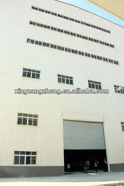 Portable structure d'acier entrepôt hangar