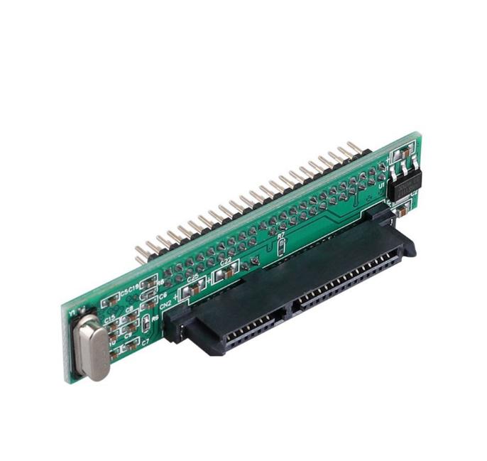 """2.5 Inch HDD SSD Nối Tiế<span class=keywords><strong>p</strong></span> ATA 7 + 15 <span class=keywords><strong>P</strong></span> Nữ để 44 Pin Nam PATA Cổng IDE Adapter Thẻ 2.5 """"<span class=keywords><strong>SATA</strong></span> để Chuyển Đổi IDE cho"""