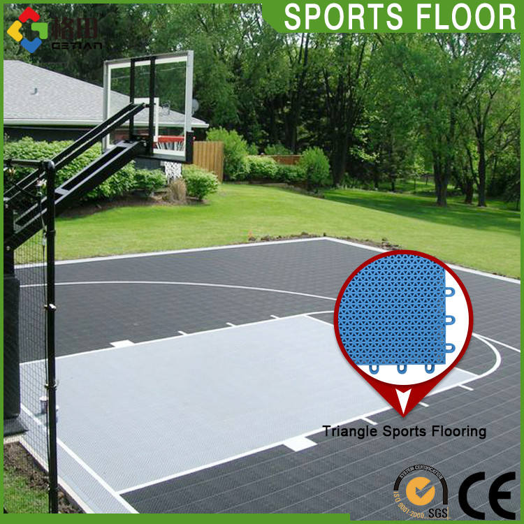 CE Standard di Lunga vita pp incastro outdoor basket ball court