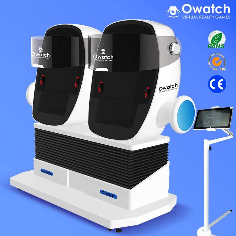 Mini suporte de realidade virtual cinema 9d 9d vr vr simulador com 360 graus filmes cena dentro