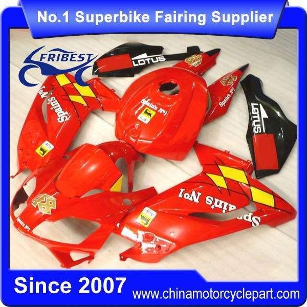 Ffkap001 xe gắn máy abs fairing kit cho rs125 2006-2011 tất cả các màu <span class=keywords><strong>đỏ</strong></span>